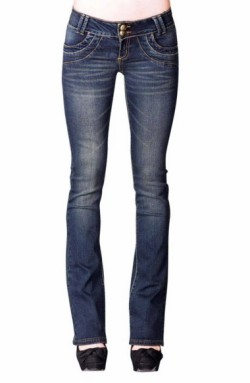 vintage look bootcut jeans women outfitspedia