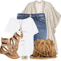Forever in Fringe Casual Summer Outfit outfitspedia