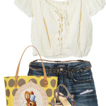 Frontier Crop Top with Shorts Summer Outfit