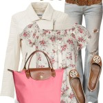 Neutral Leather Jacket Spring Outfit