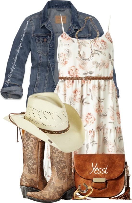 Cute Cowgirl Outfit Idea outfitspedia