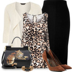 How to Wear Leopard Pattern As Work Outfit
