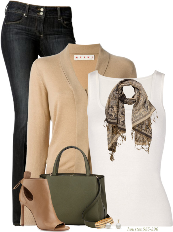 Shawl Collar Cardigan Comfy Fall Outfit outfitspedia