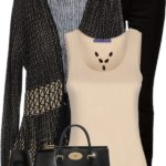 Stylish Bluemarine Cardigan Fall Outfit