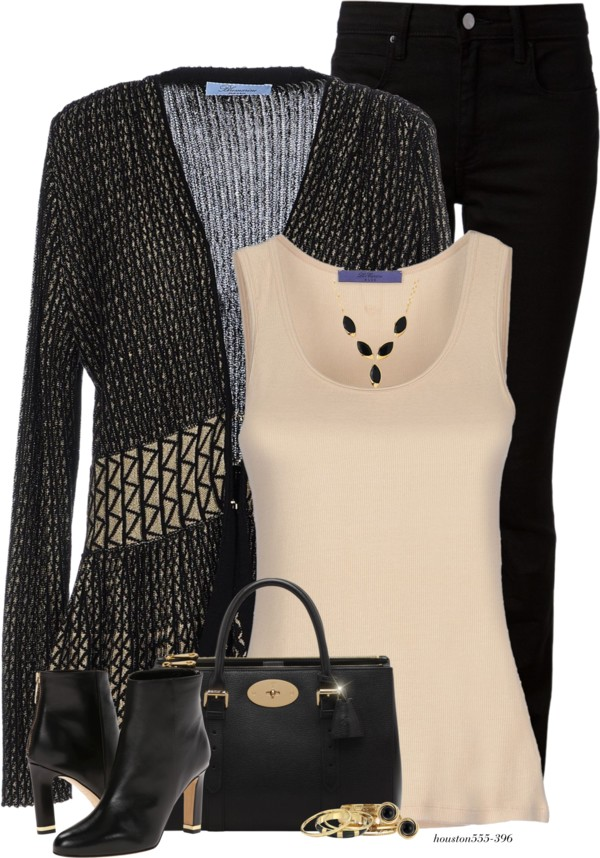 Stylish Bluemarine Cardigan Fall Outfit outfitspedia