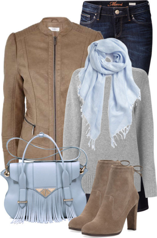 How to Add Pastel Color To Fall Outfit outfitspedia