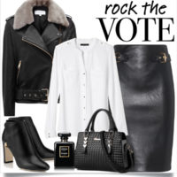 How to Rock Black and White Outfit This Fall outfitspedia