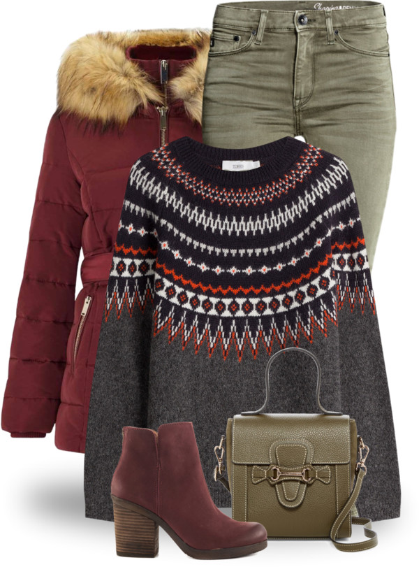 Matching Coat and Booties Winter Outfit outfitspedia