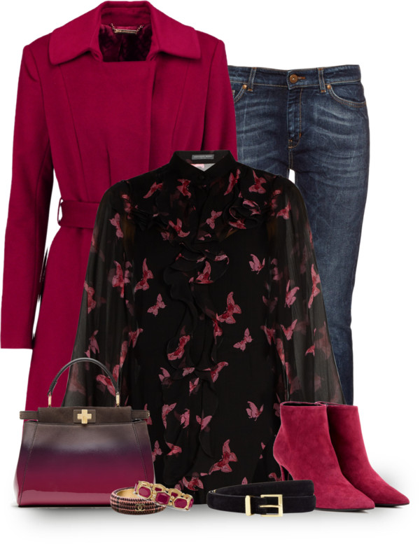 Winter Outfit with Feminine Touch outfitspedia