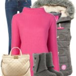 Casual Pink Vibe Winter Outfit