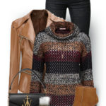Funky Fish Net Jumper Stylish Fall Winter Outfit