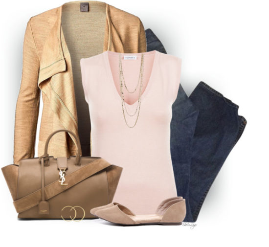 Vero Moda Amber Jacket Casual Spring Outfit outfitspedia