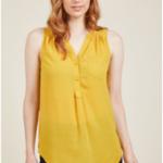 Yellow Tunic Marigold - outfitspedia