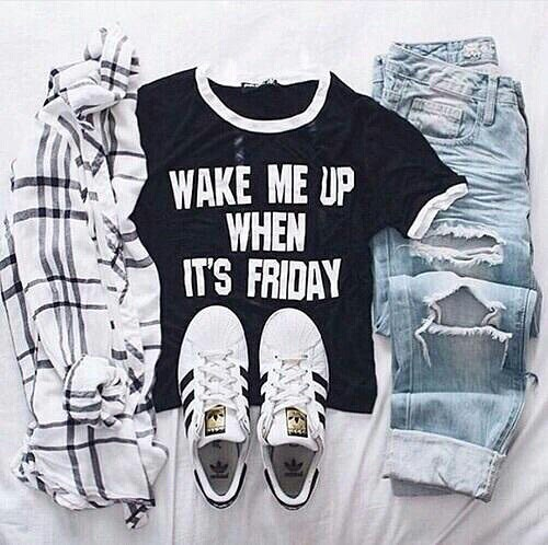 friday casual outfit