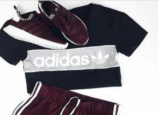 Love Purple Adidas Workout Outfit yoga outfit