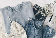 baby blue sweater outfit pastel sweater outfit casual fall outfit bustier outfit bralette outfit