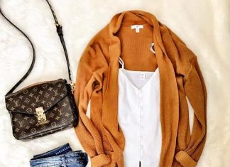 mustard cardigan fall outfit 2 outfitspedia